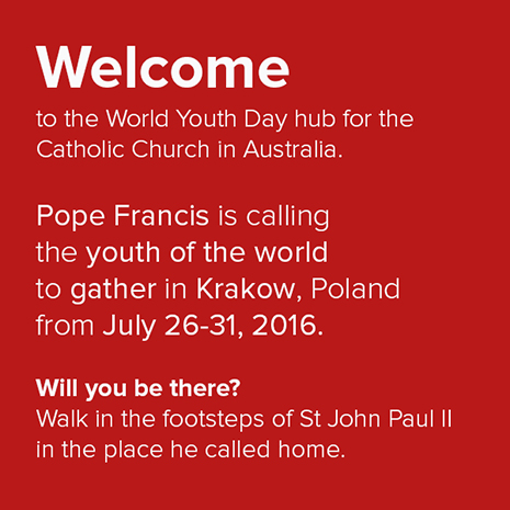 Welcome to the World Youth Day - image