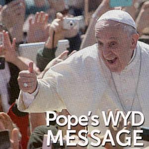 pope new sm message