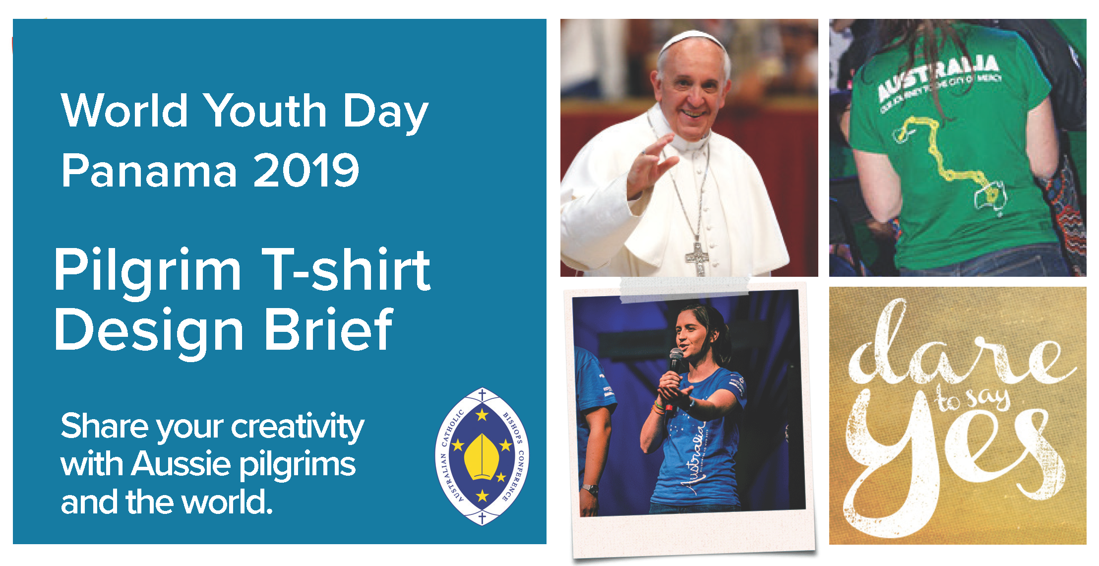 WYD2019 Pilgim Tshirt Design Brief
